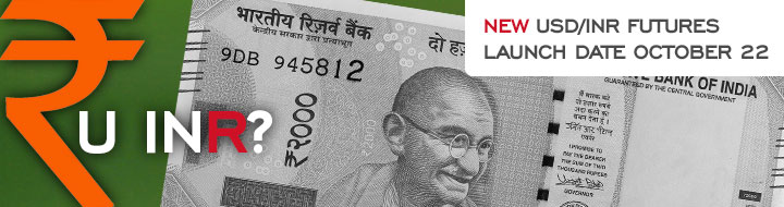 INR/USD FX futures begin trading on MOEX