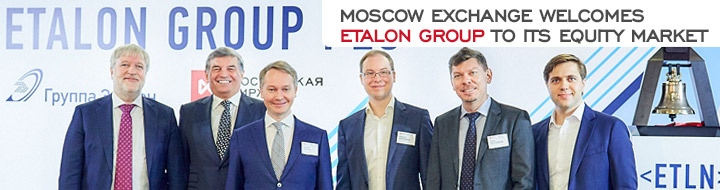 Moscow Exchange welcomes Etalon Group to its Equity Market