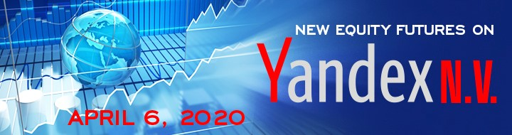 Moscow Exchange launches equity futures on Yandex shares